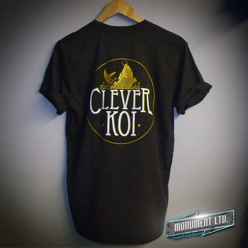 clever-koi-T-shirt printing