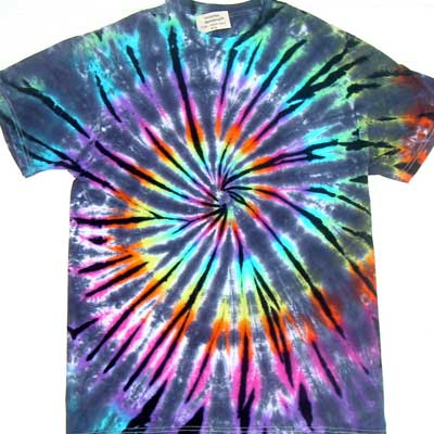 T Shirt Decoration Methods tye-dye