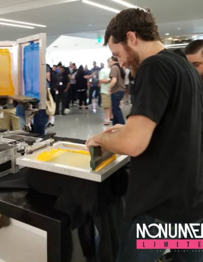 Live Screen Printing